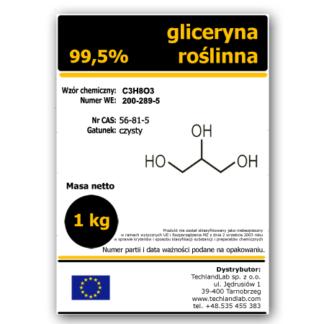 Gliceryna roślinna 1 litr