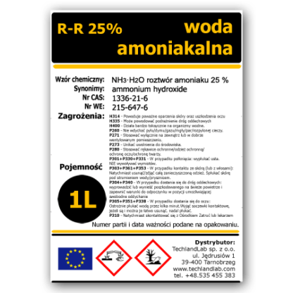 Woda amoniakalna 1 litr