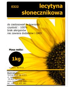 lecytyna słonecznikowa