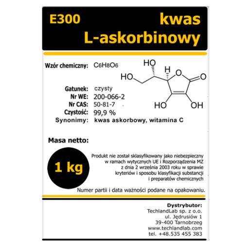 Kwas l-askorbinowy E300