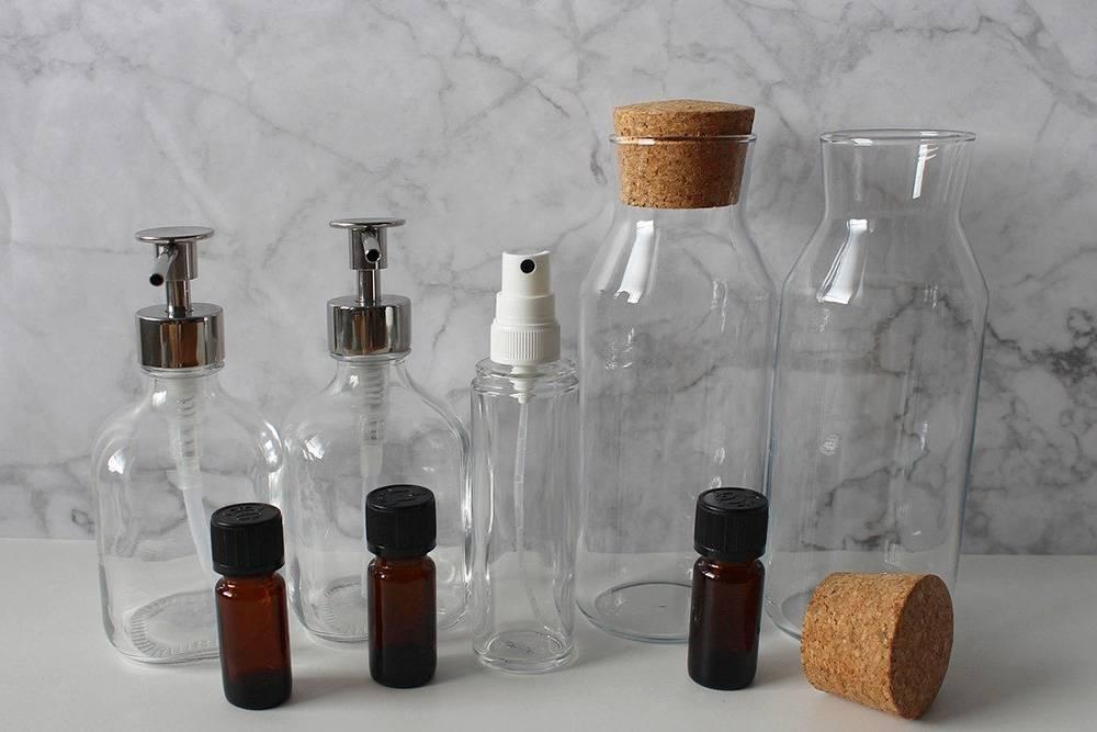 dozowniki i butelki