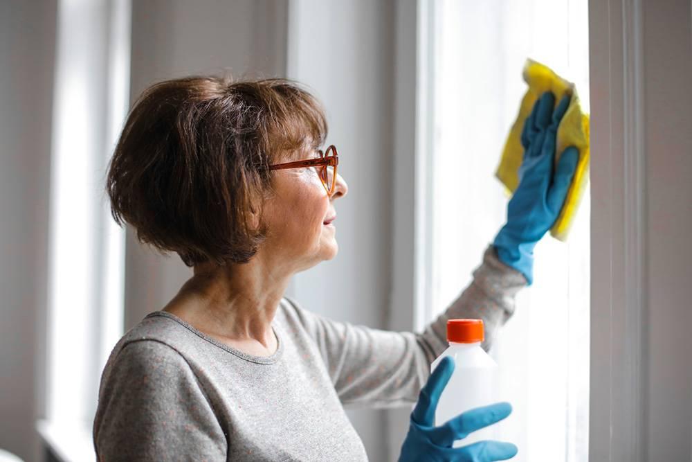 Kobieta, która sprząta