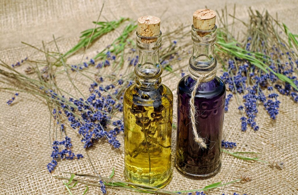 olejek eteryczny z lawendy