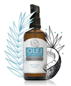 Olejek do włosów MONOI 100% naturalna regenracja i blask 100ml