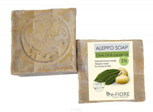 Mydło Aleppo 1%