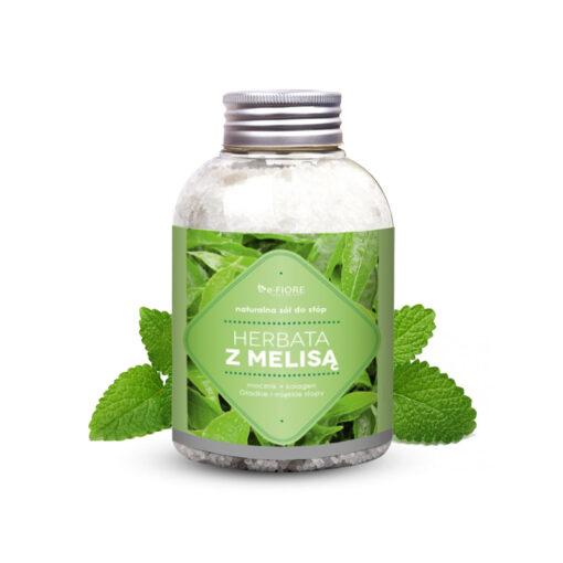 Naturalna sól do STÓP z MOCZNIKIEM i KOLAGENEM Melisa z Herbatą 500ml
