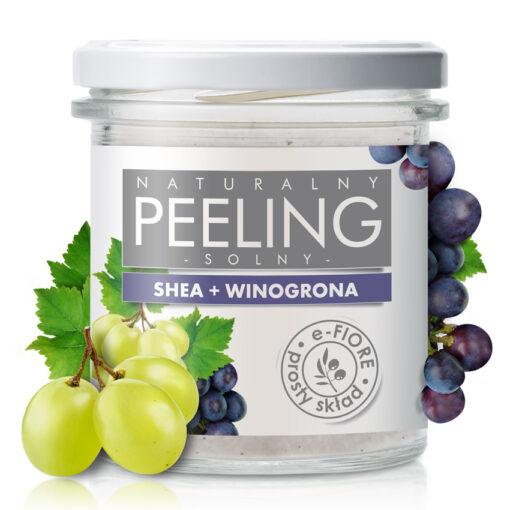 Peeling solny do ciała winogronowy
