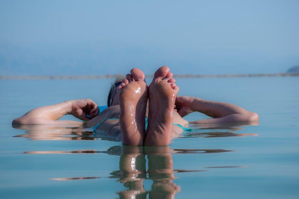 morze martwe - dryfowanie